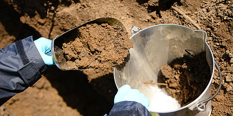WESSLING provides analysis for all types of soil samples